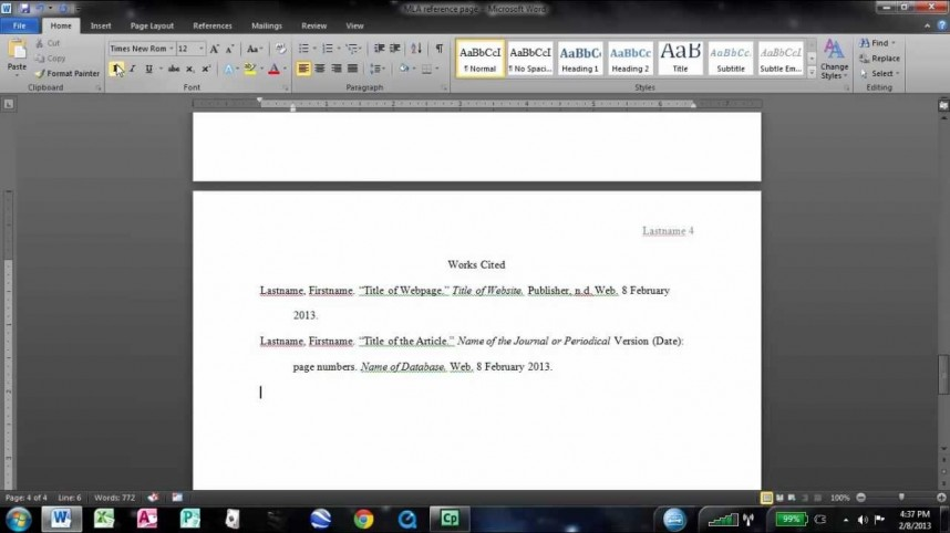 014 Cited Page For Research Paper Remarkable Work How To Do