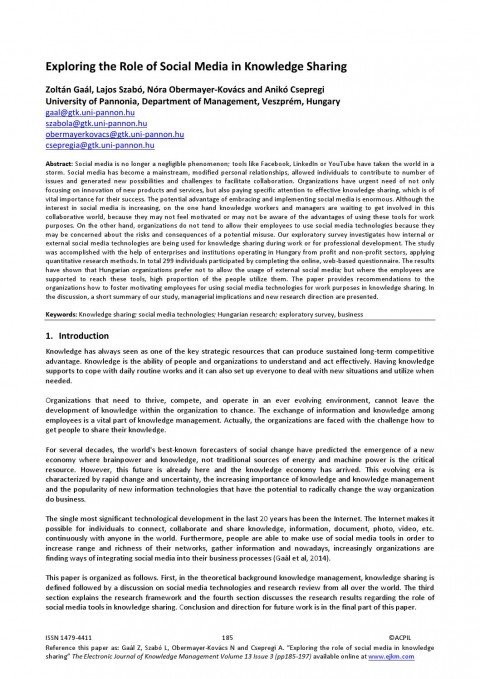 014 Conclusion For Research Paper About Social Media Page 1 Awful 480