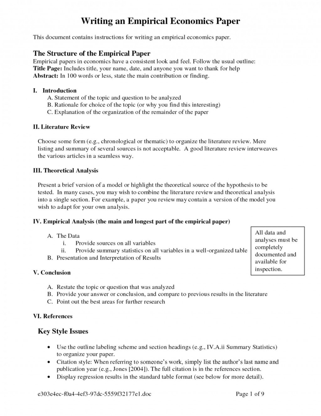 014 Dissertation Apa Style Example Essays Research Proposal Methods Section Custom For Lovely X How To Format Excellent A Paper Formatting An Large