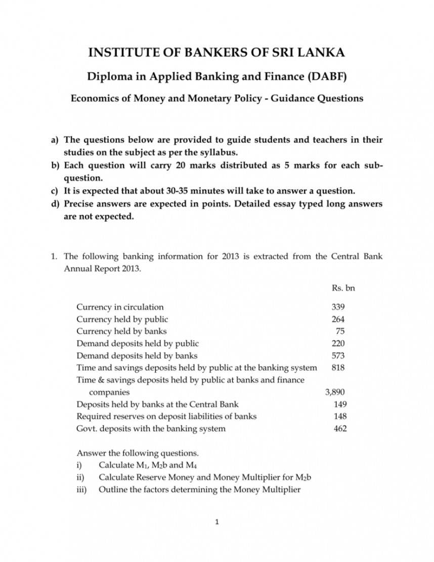 014 Essay Topics Monetary Policy Research Paper Australia Committee Economics Of Remarkable Financial International Public