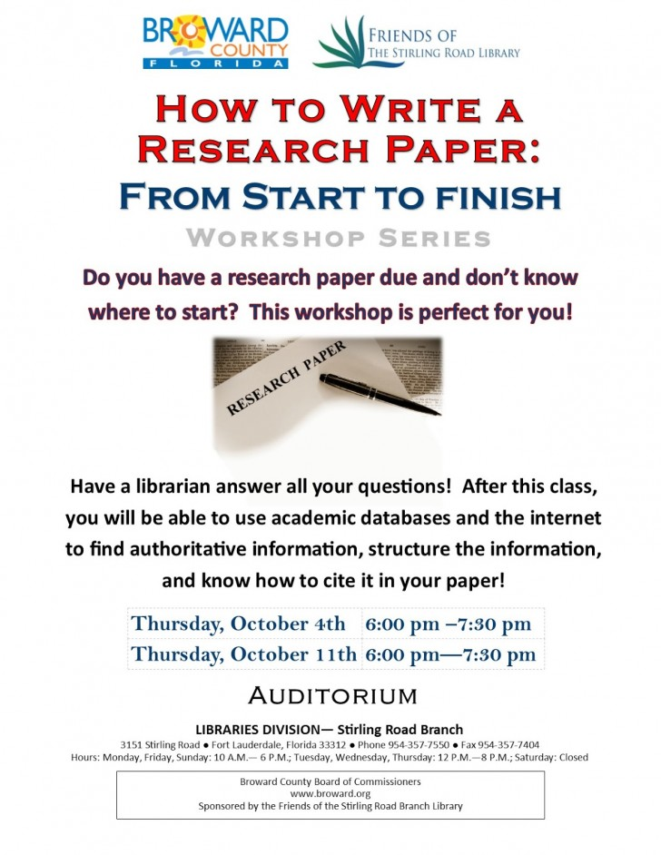 014 How To Write Research Paper Frightening A Thesis Driven Proposal Apa 728