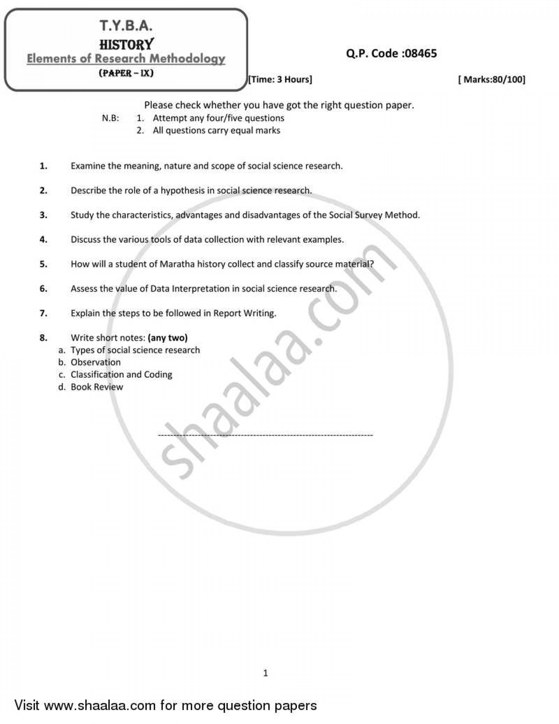 014 Hypothesis In Research Paper Pdf University Of Mumbai Bachelor Elements Methodology Ty History Yearly Pattern 3rd Year Tyba 2018 285cfda648e134cab9025052554be7cce Sensational Testing 1920