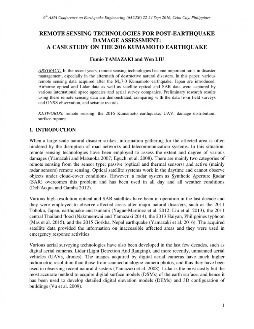 014 Largepreview Earthquake Research Paper Pdf Wondrous Philippines