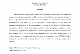 014 Largepreview Research Paper Poverty In The Philippines Remarkable Abstract