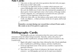 014 Note Cards Examples For Research Paper Unique A Example Card Format Template