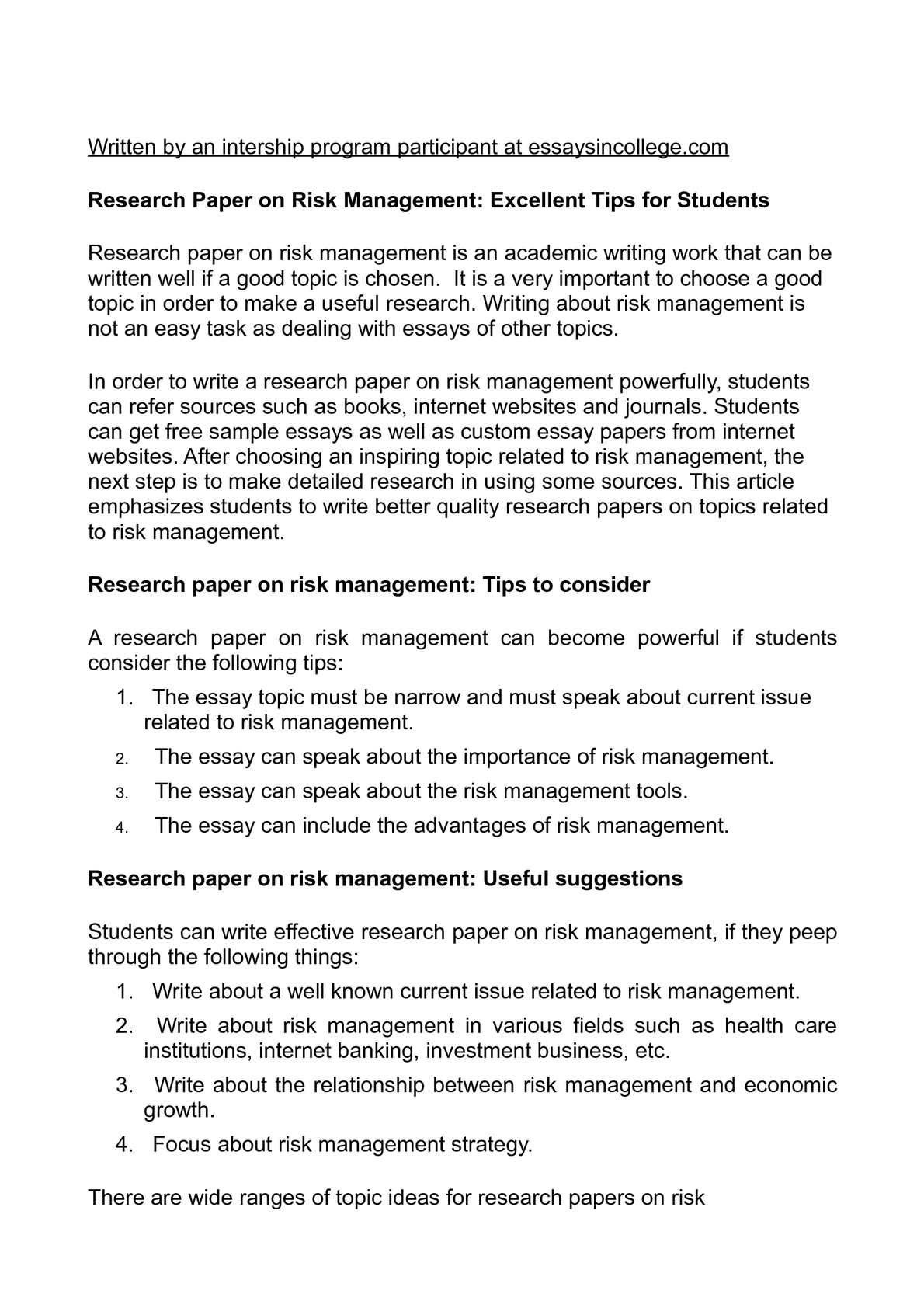 014 P1 Research Paper Business Management Topics Unusual For Pdf Techniques Full