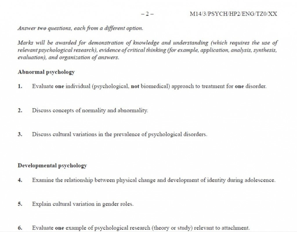 014 Research Paper 3968307 Orig Developmental Psychology Topics Dreaded For Potential Large