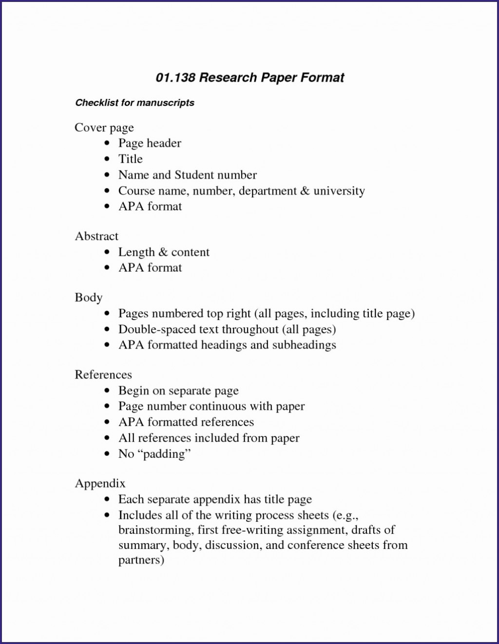 014 Research Paper Abstract For Apa Style Template Lovely Beautiful Super Example Wondrous Writing An A Of In Format Large