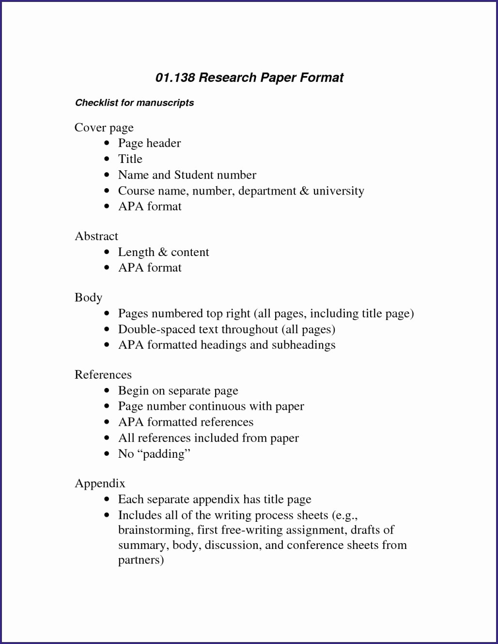 014 Research Paper Abstract For Apa Style Template Lovely Beautiful Super Example Wondrous Writing An A Of In Format Full