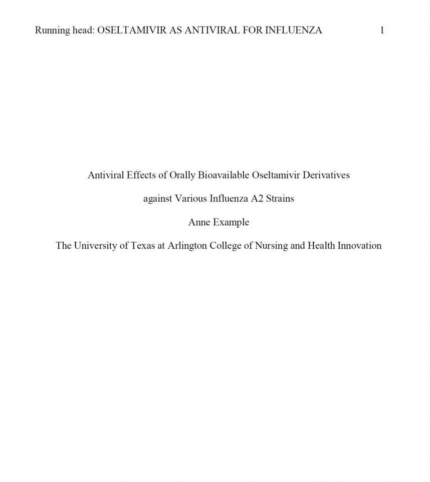 014 Research Paper Apa Format Reference Page Unique References
