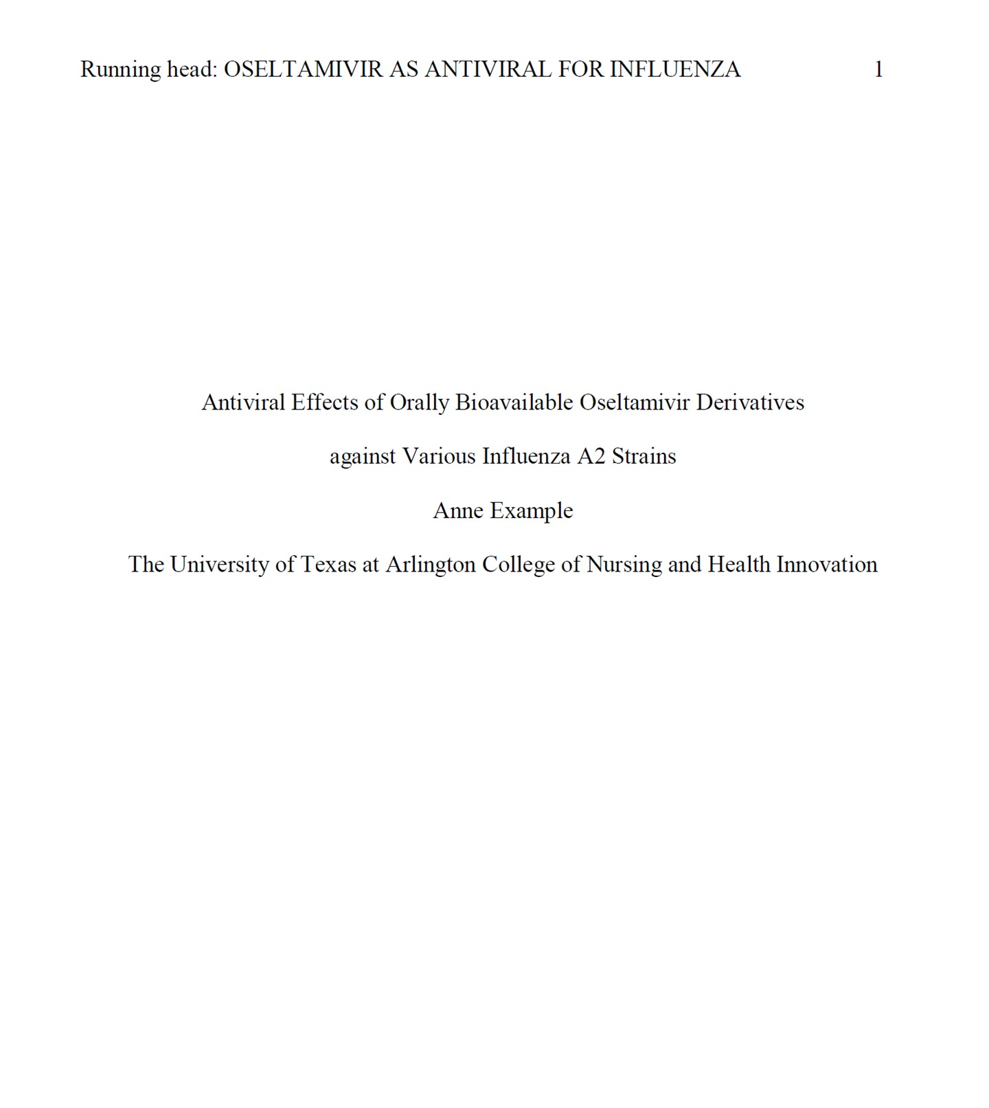 014 Research Paper Apa Format Reference Page Unique List Full
