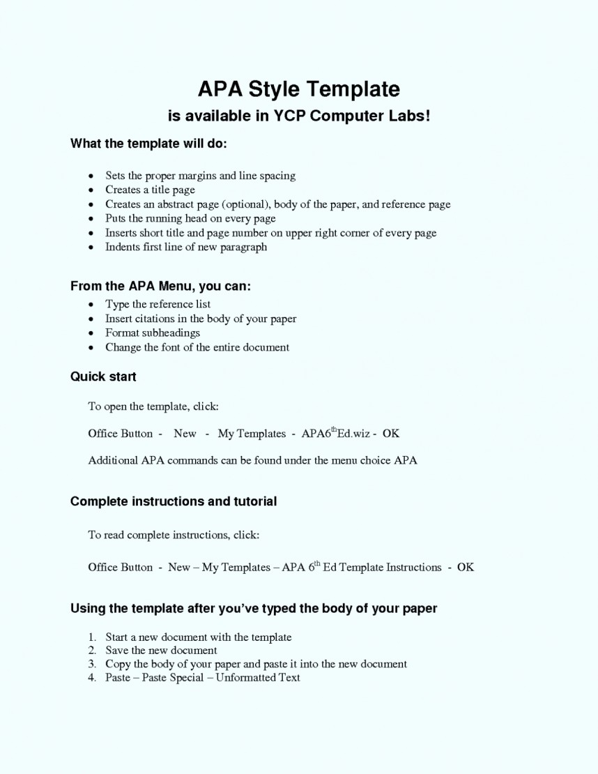 014 Research Paper Apa Style Template 6th Edition Format Best Of Essay Imposing Example