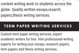 014 Research Paper Custom Writing Service Awesome Term Services
