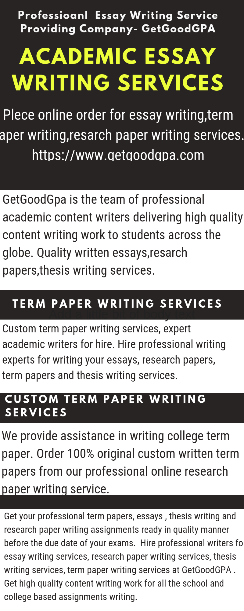 014 Research Paper Custom Writing Service Awesome Term Services Full