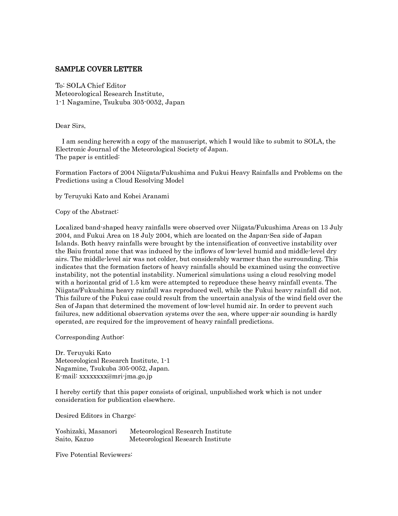 014 Research Paper Editor Cover Letter Breathtaking Software Free Editorial Full