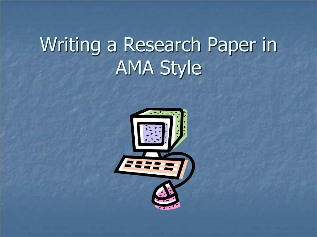 014 Research Paper Example Of Ppt Writing In Ama Style Unbelievable Methodology A Middle School Large