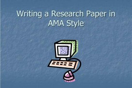 014 Research Paper Example Of Ppt Writing In Ama Style Unbelievable Methodology A Middle School