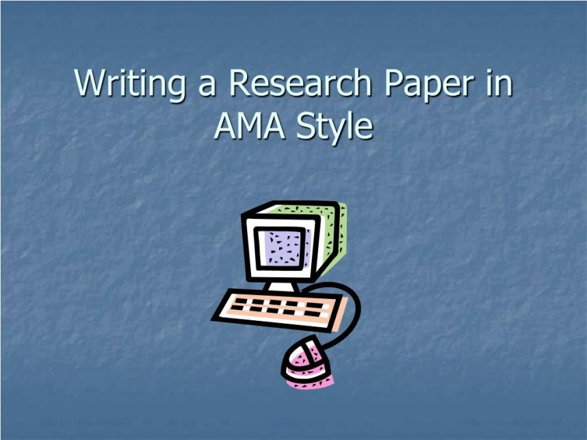 014 Research Paper Example Of Ppt Writing In Ama Style Unbelievable Methodology A Middle School Discussion