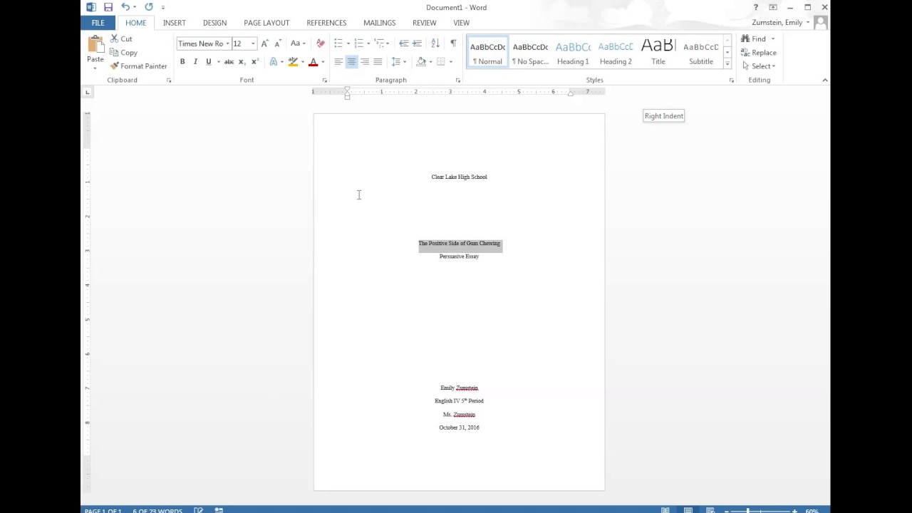 014 Research Paper First Page Mla Format Unique Style For The Of A Title Full