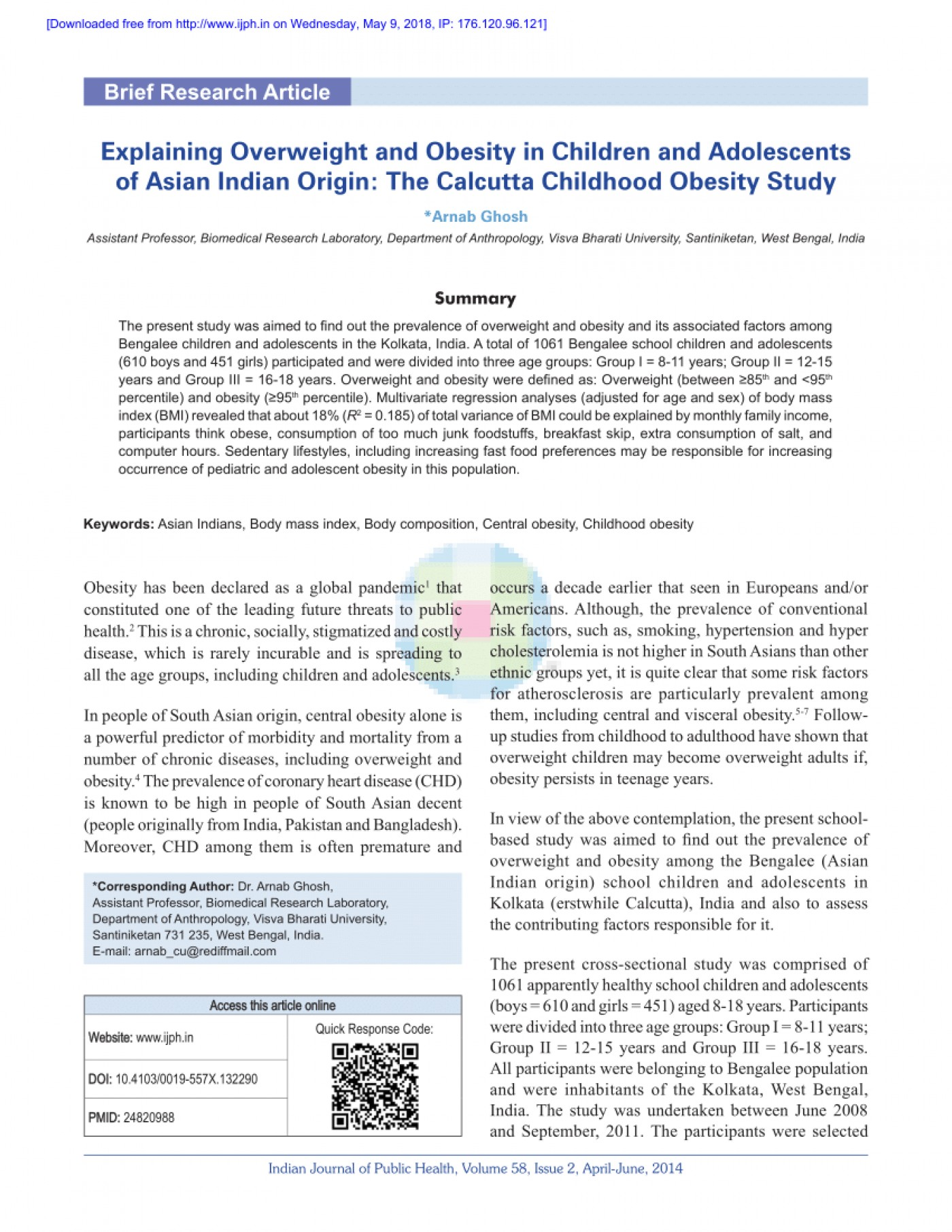 014 Research Paper Largepreview Primary Article On Childhood Imposing Obesity 1400