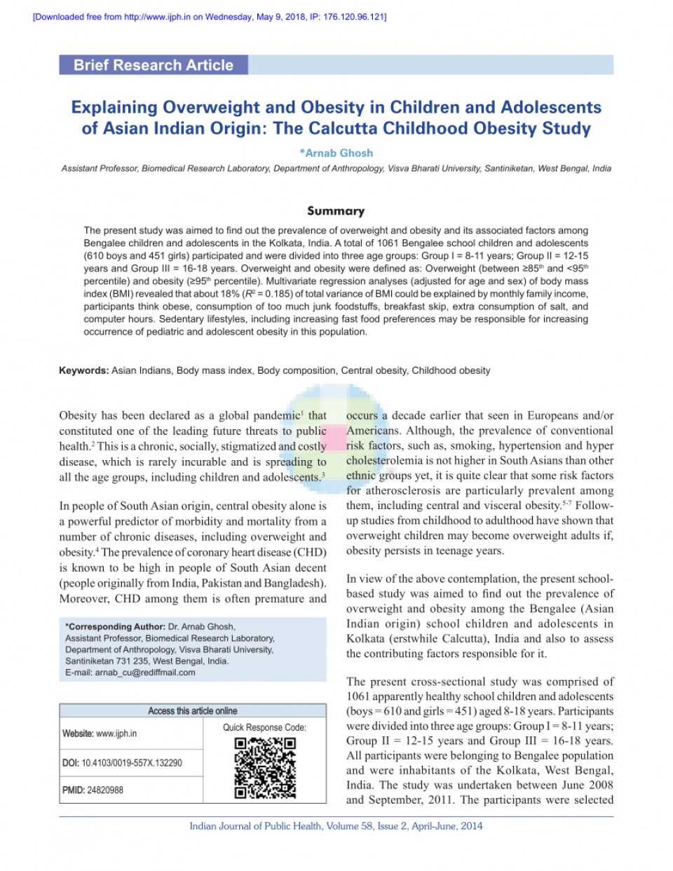 014 Research Paper Largepreview Primary Article On Childhood Imposing Obesity 960
