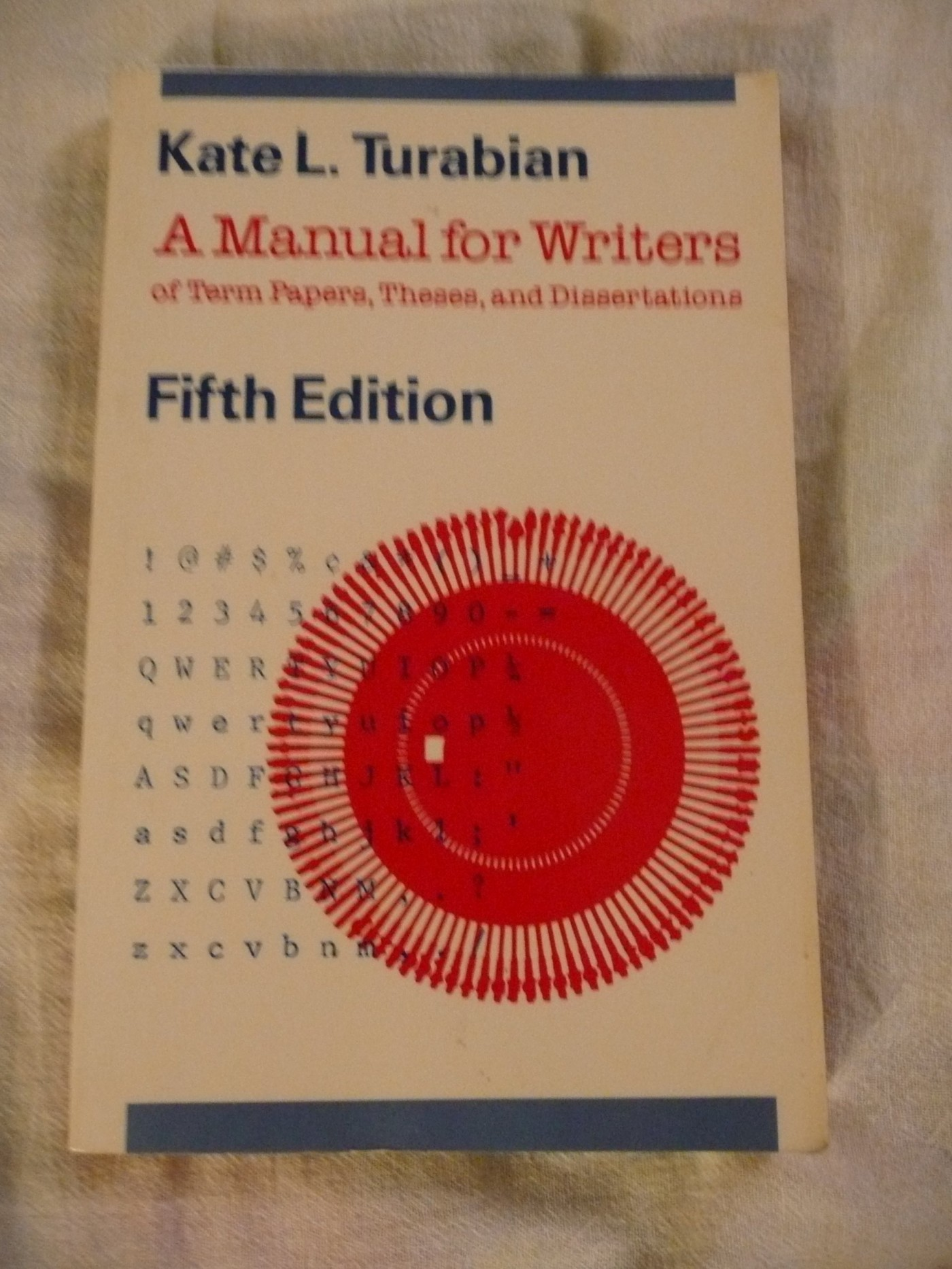 014 Research Paper Manual For Writers Of Papers Theses And Dissertations Magnificent A Amazon 9th Edition 8th 13 1400