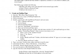 014 Research Paper Mla Format Papers Outline Template 472278 Blank For Frightening A