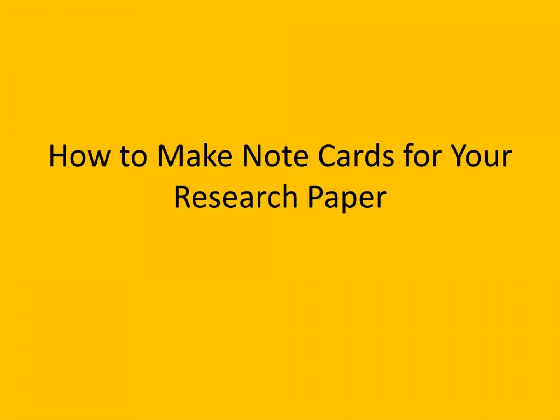 014 Research Paper Note Cards How To Make For Your Stupendous Mla Format Examples 1920