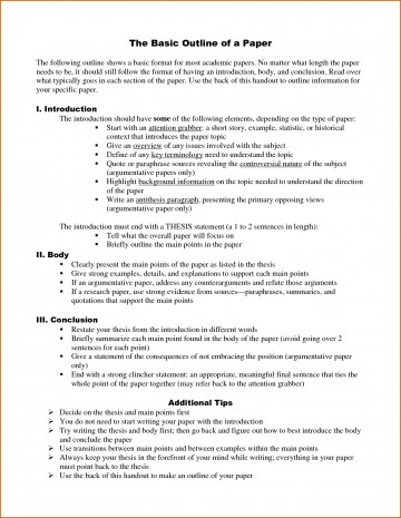 014 Research Paper Outline Template Word How To Do An For Stupendous A Example Write Sample 360