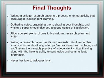 014 Research Paper Writing Process Ppt How Outstanding To Publish Write Abstract For Prepare 360