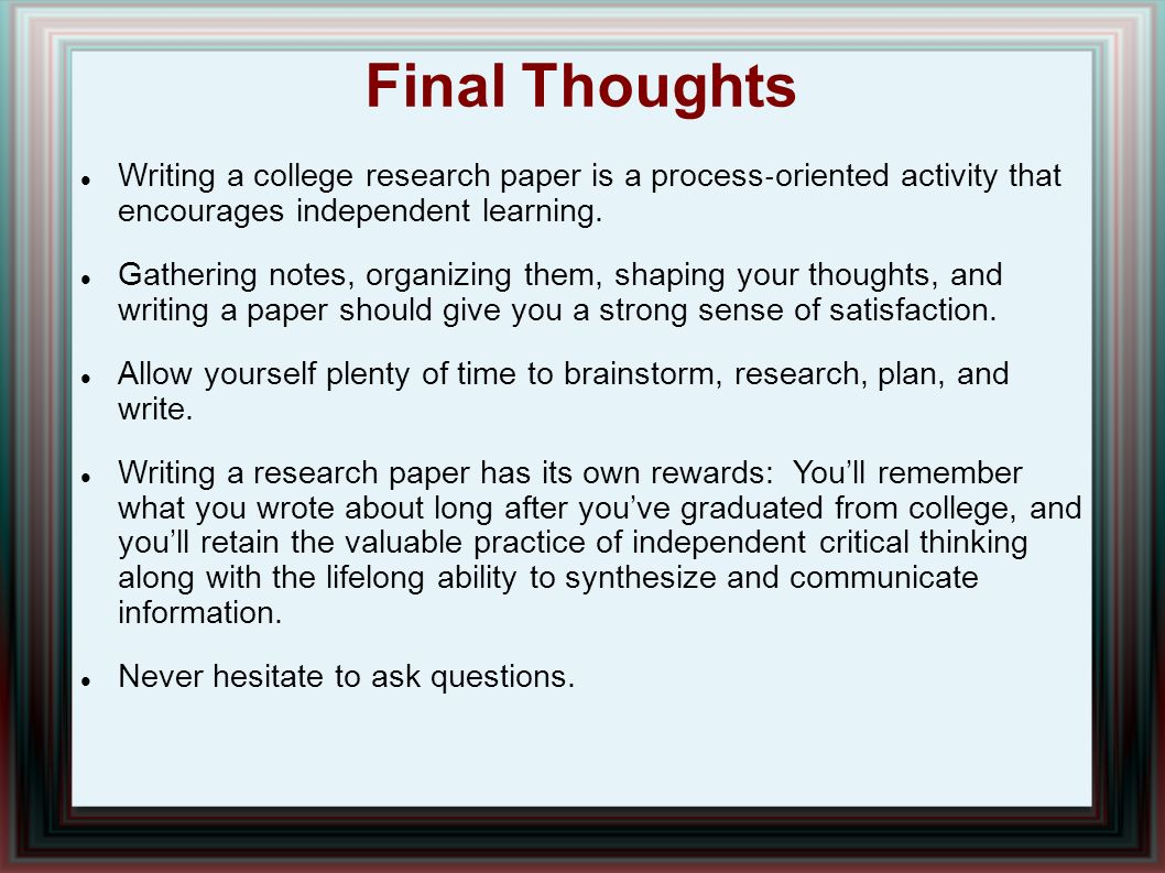 014 Research Paper Writing Process Ppt How Outstanding To Publish Write Abstract For Prepare Full