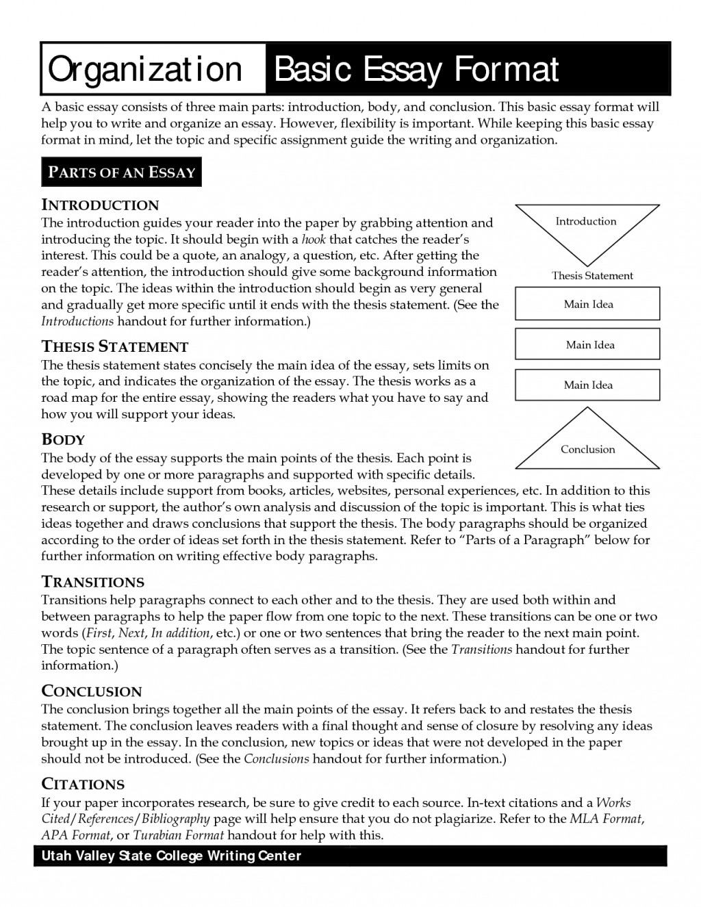 014 Standard Essay Format Get Online Research Paper Example Of Conclusion In About Unforgettable Bullying Large