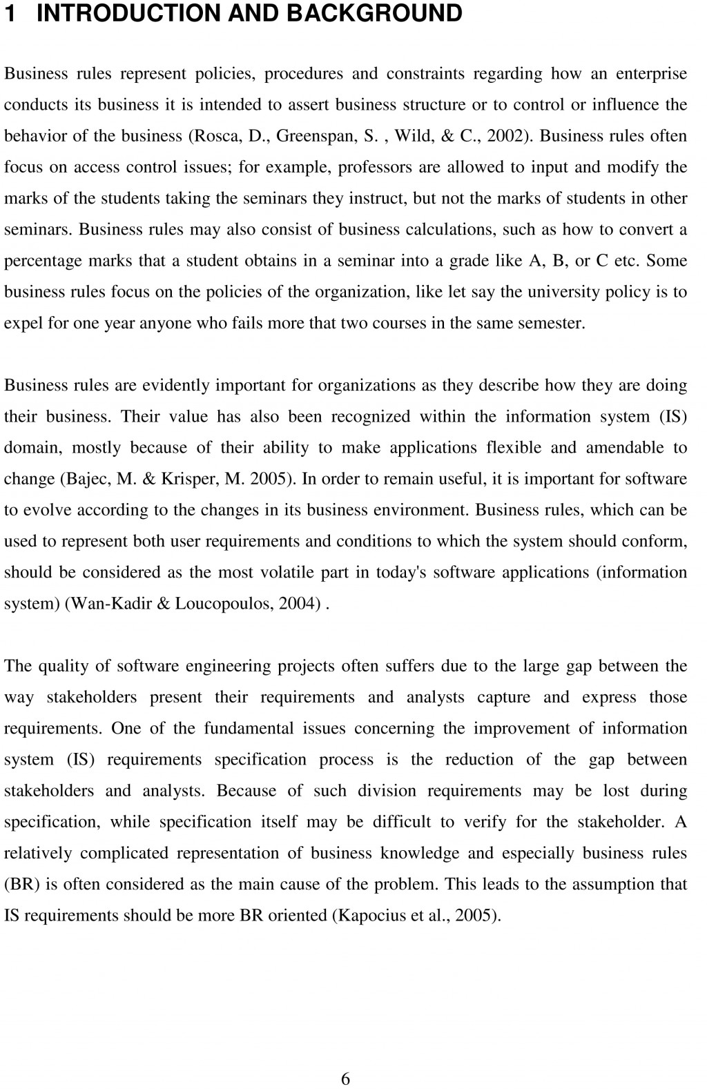 014 Thesis Free Sample1 Research Paper Example Of Simple Fantastic A Pdf Large