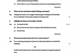 015 12th Board Exams Samples For Sociology Example Of An Outline Literary Research Striking A Paper