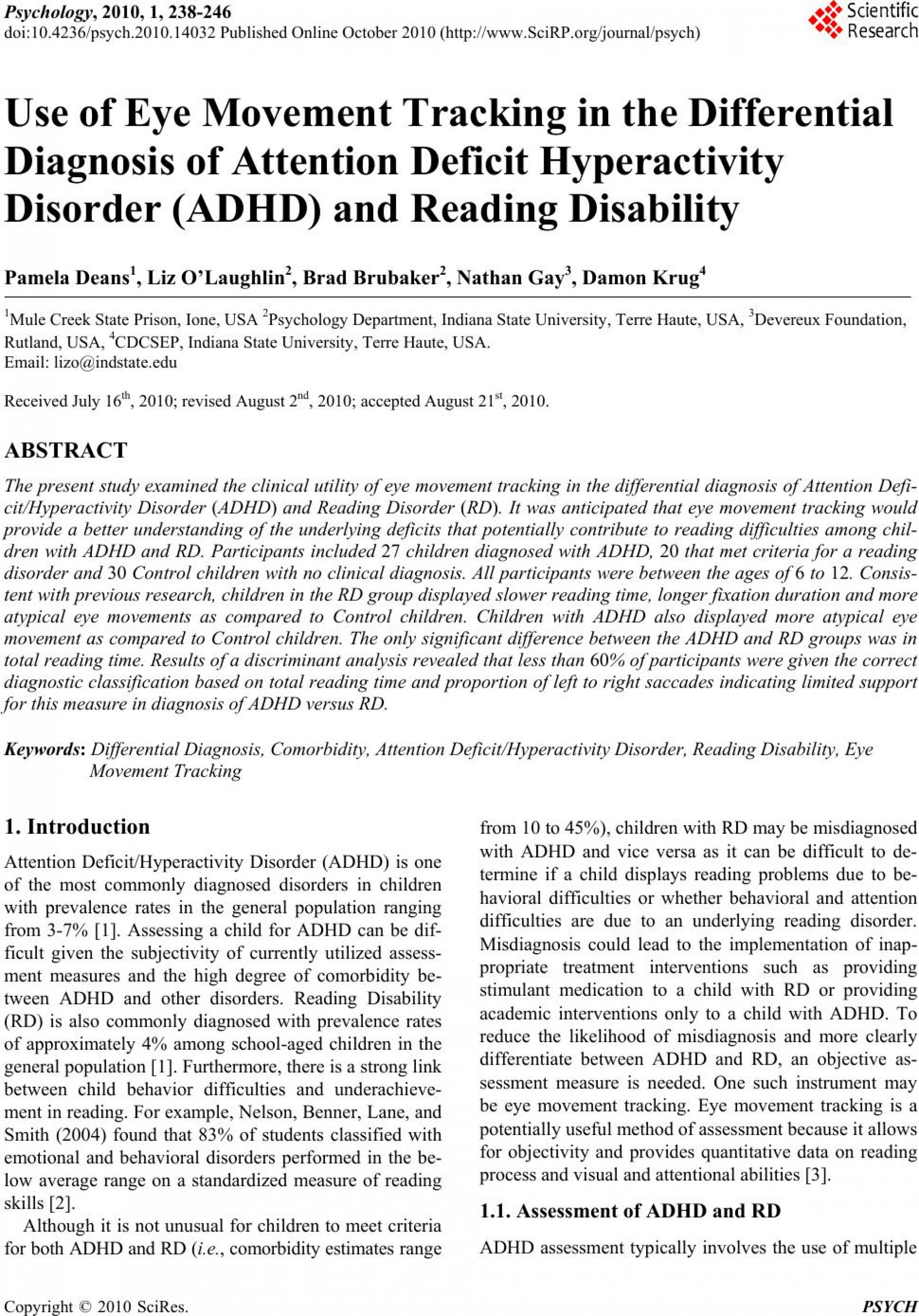 015 2920 1 Research Paper Adhd Amazing Abstract 1920