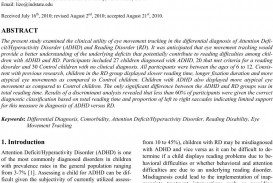 015 2920 1 Research Paper Adhd Amazing Abstract