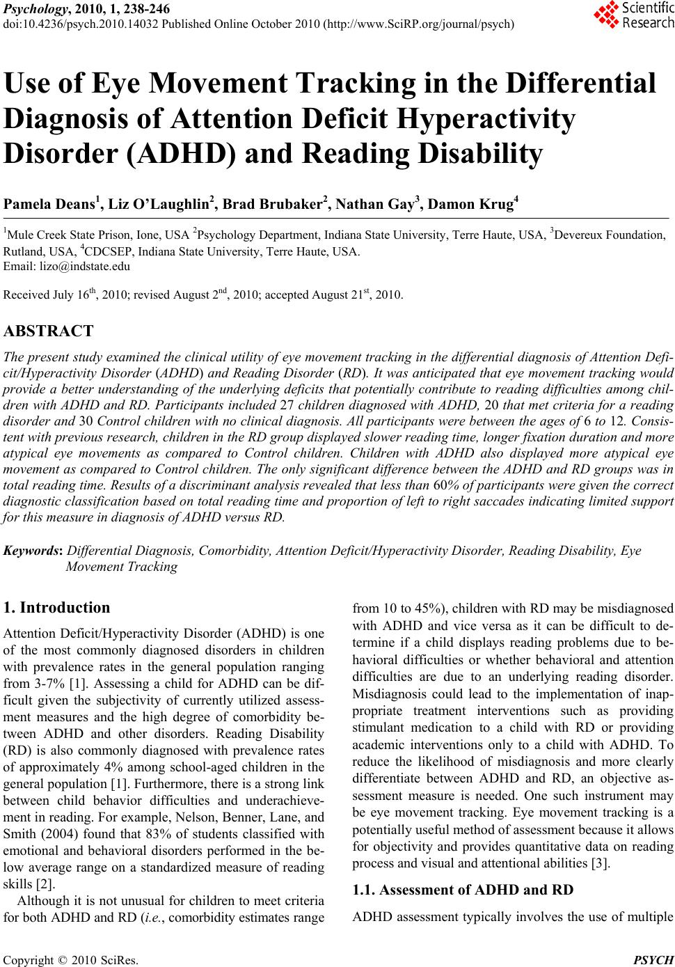 015 2920 1 Research Paper Adhd Amazing Abstract Full