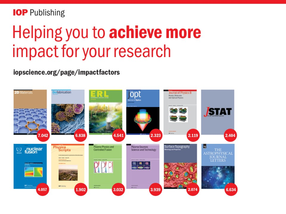 015 Best Journals To Publish Researchs Impact Factors Iop Publishing 1200x900guesttrue Stunning Research Papers In Computer Science List Of 960