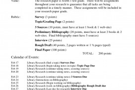 015 Career Research Paper Outline Example 477605 Rare Sample