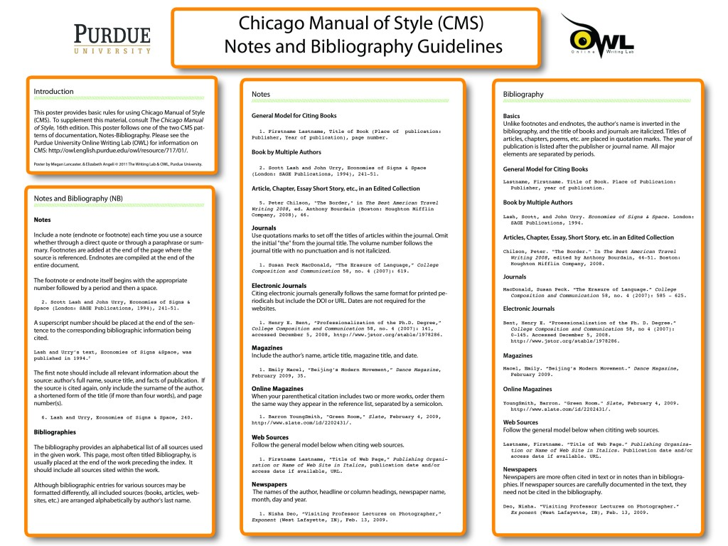 015 Chicago Manual Of Style Research Paper In Text Citation Wondrous Sample Large
