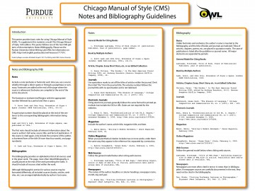 015 Chicago Manual Of Style Research Paper In Text Citation Wondrous Sample 360