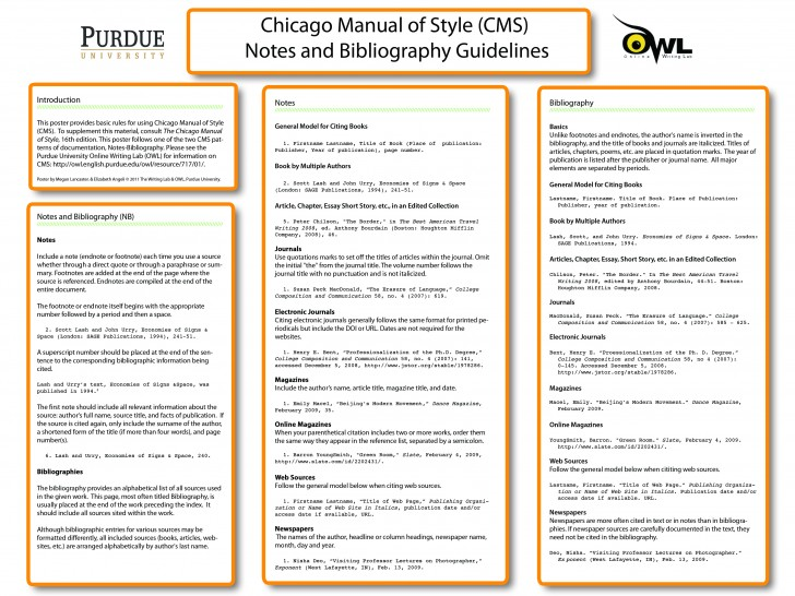 015 Chicago Manual Of Style Research Paper In Text Citation Wondrous Sample 728