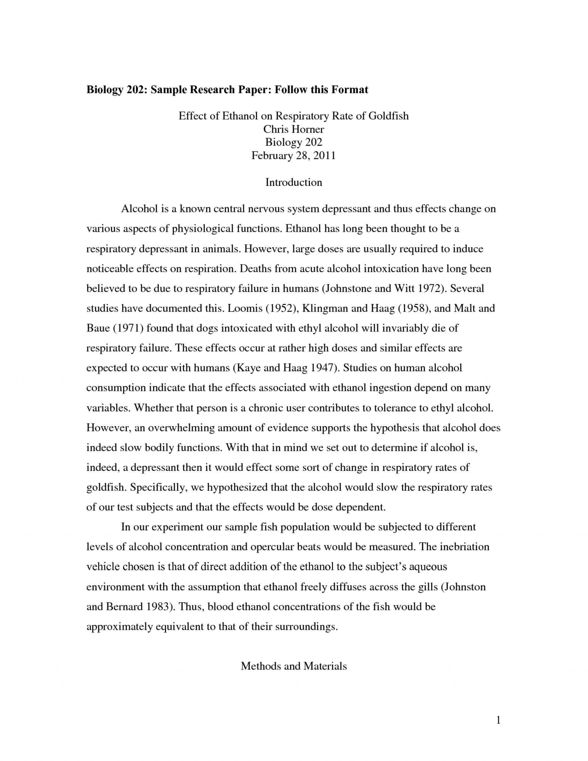 015 College Research Paper Format Sample 473282 Rare Apa Outline 1920