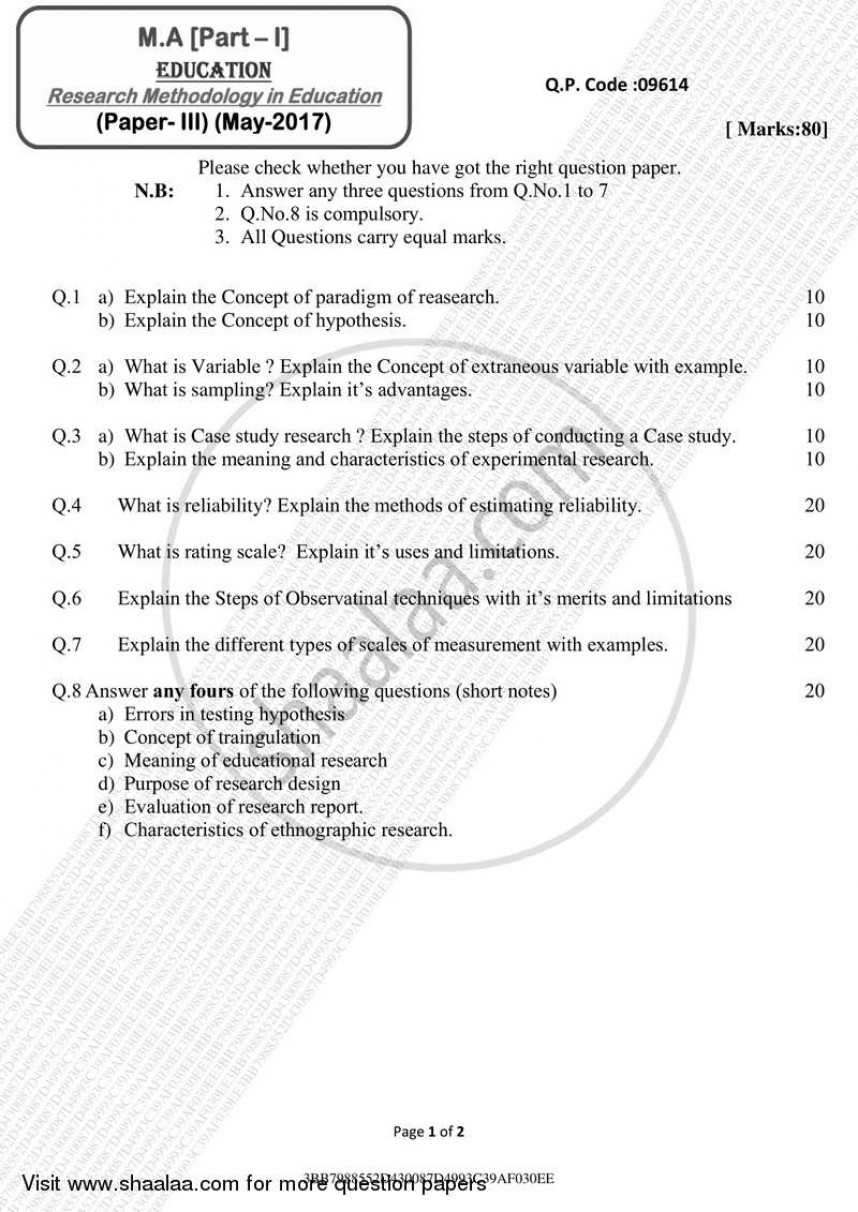 015 Education Researchs Pdf University Of Mumbai Master Ma Methodology Yearly Pattern Part 2017 2f9b9e59f7e3e4986b1075c98d73ba80a Exceptional Research Papers Educational Psychology Bilingual Paper Higher