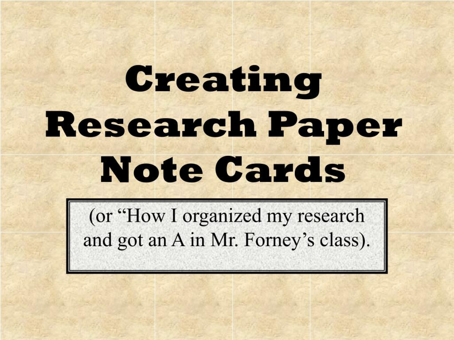 015 Formatting Notecards For Research Papers Paper Creating Note Cards Fascinating 1920