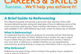015 How To Write References In Research Paper Slideshare Uwsguidetoreferencing Thumbnail Excellent