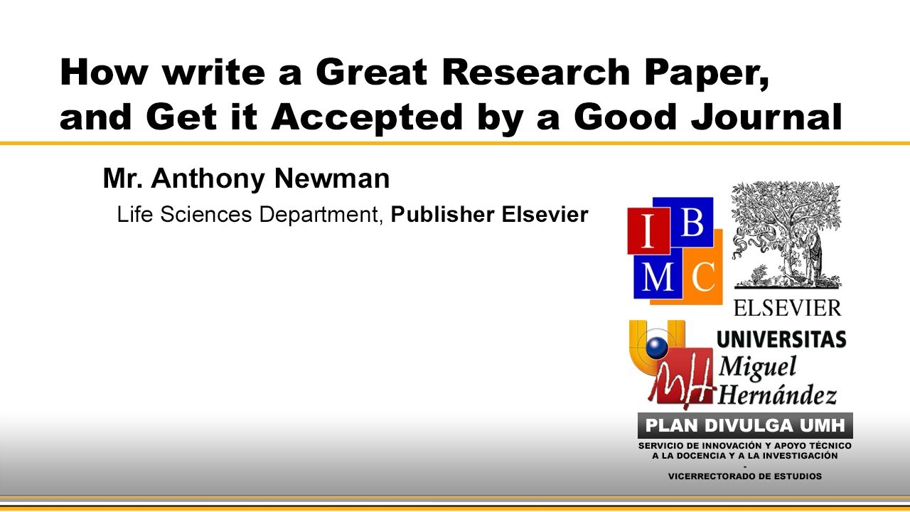 015 How To Write Research Paper Fast Youtube Rare A Full