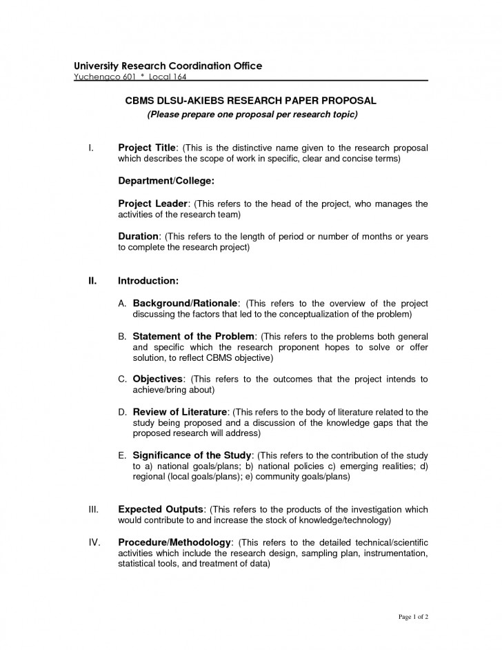 015 Ideas Of Phd Research Proposal Format Example Essay Sample Paper Appendix Mla Astounding Topic Education Psychology Business 728