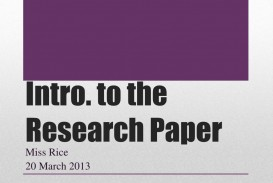 015 Introduction To Research Paper Ppt Intro The Outstanding How Write In An For A Powerpoint