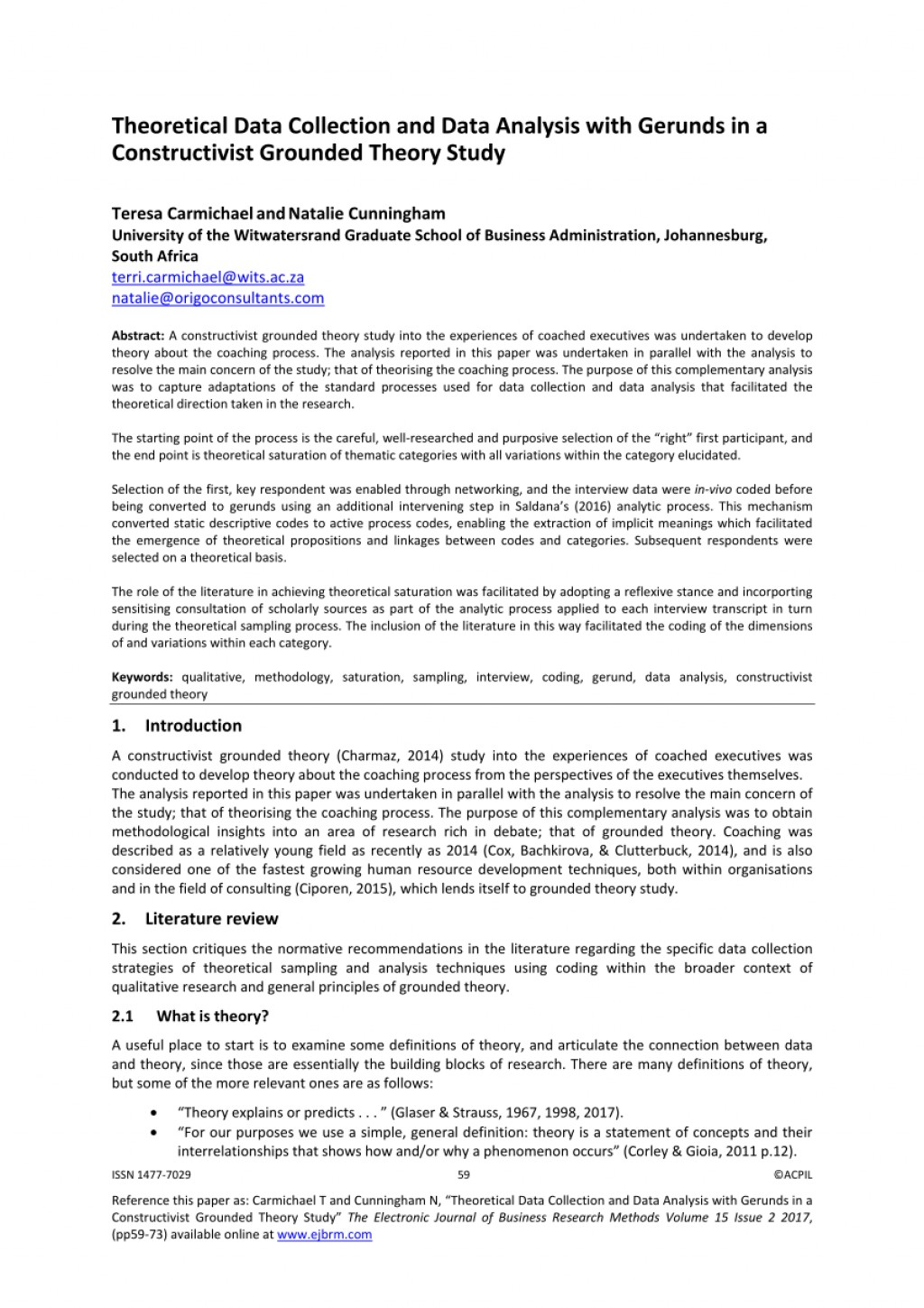 015 Largepreview Format Writing Qualitative Research Amazing Paper Large